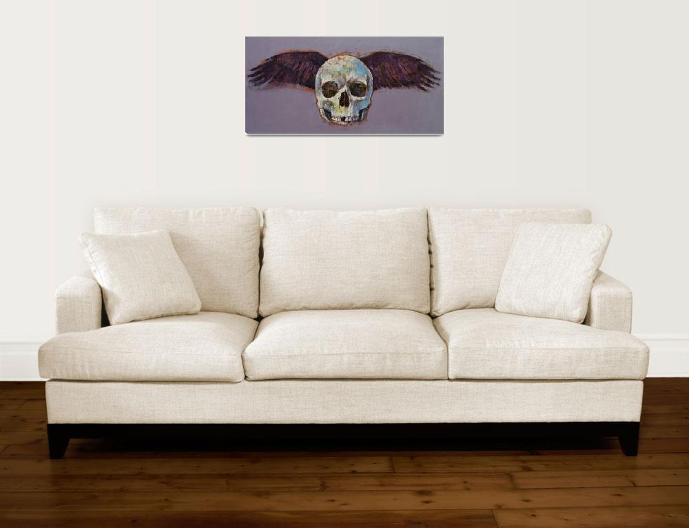 """Raven Skull&quot  by creese"