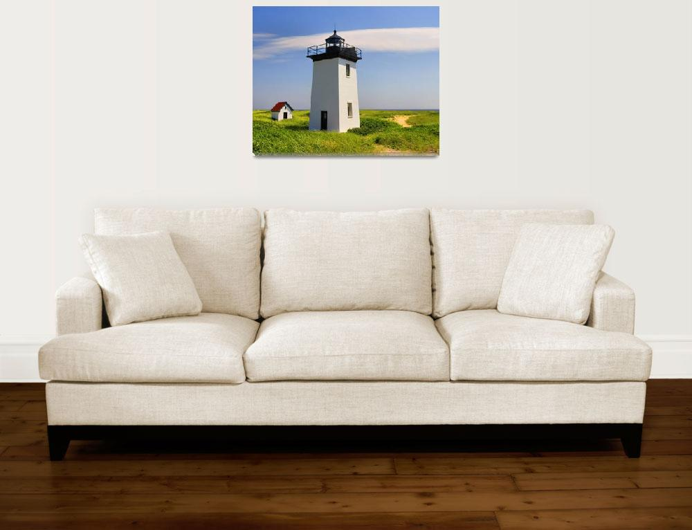 """Provincetown - Wood End Lighthouse&quot  (2007) by PJPHOTO"