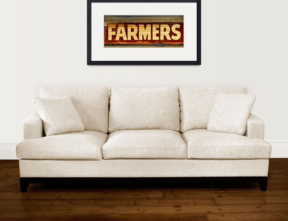 """Farmers&quot  (2012) by swazoo"