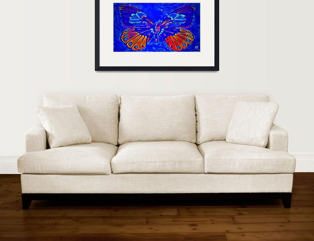 """Abstract Butterfly Art 13&quot  (2016) by positivebusinessdesigns"