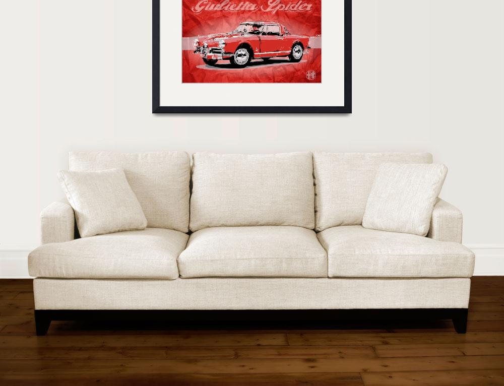 """Giulietta Spider&quot  (2012) by getshaped"