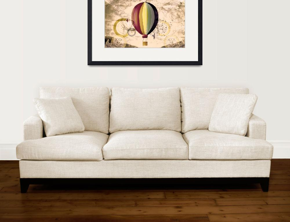 """Hot Air Balloon&quot  (2013) by LJdesigns"
