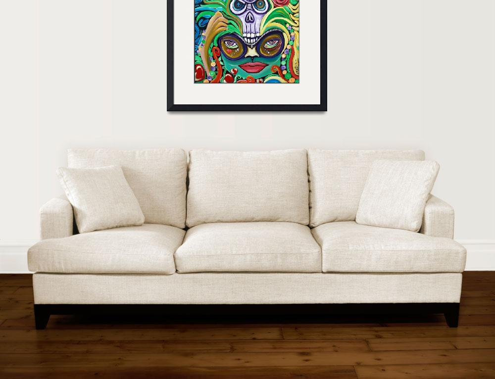 """Mardi Gras Magic&quot  (2012) by ArtPrints"