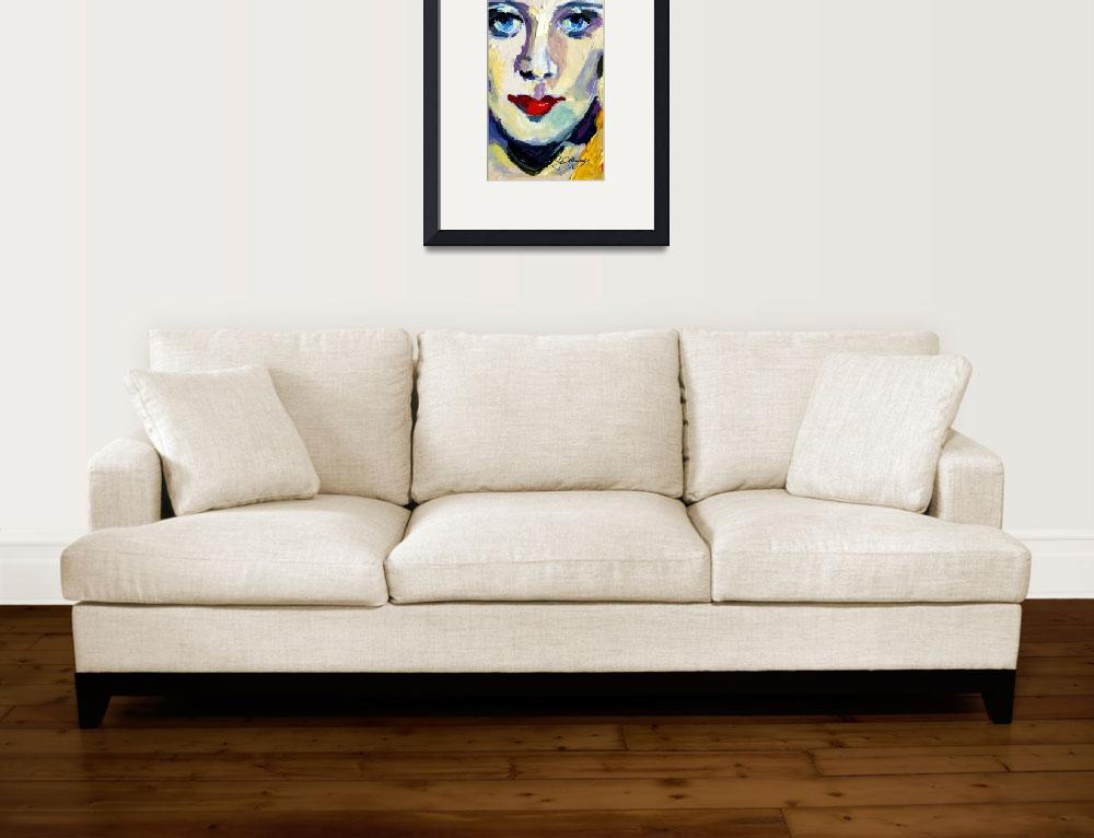 """Carole Lombard Hollywood Legends&quot  (2016) by GinetteCallaway"