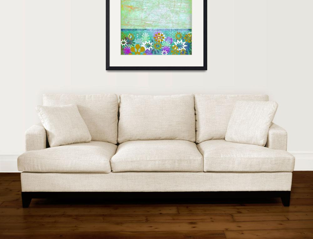 """Flower Art Print&quot  (2009) by rickimountain"