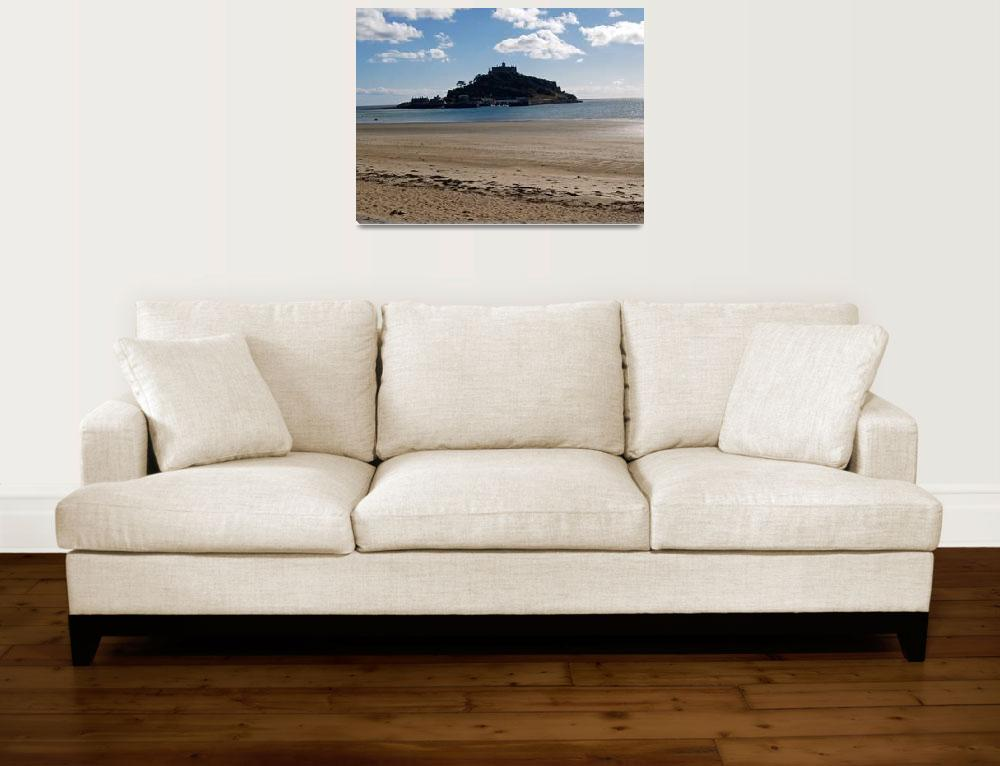 """St Michaels Mount&quot  (2007) by mikeinfrance"