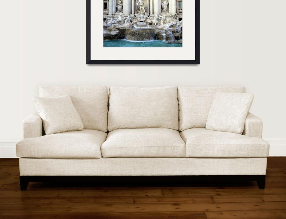 """TREVI FOUNTAIN ROME&quot  (2007) by homegear"