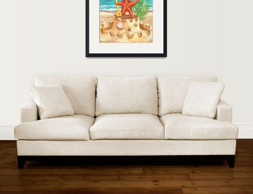 """Starfish Beach Fun&quot  (2007) by shariwarren"