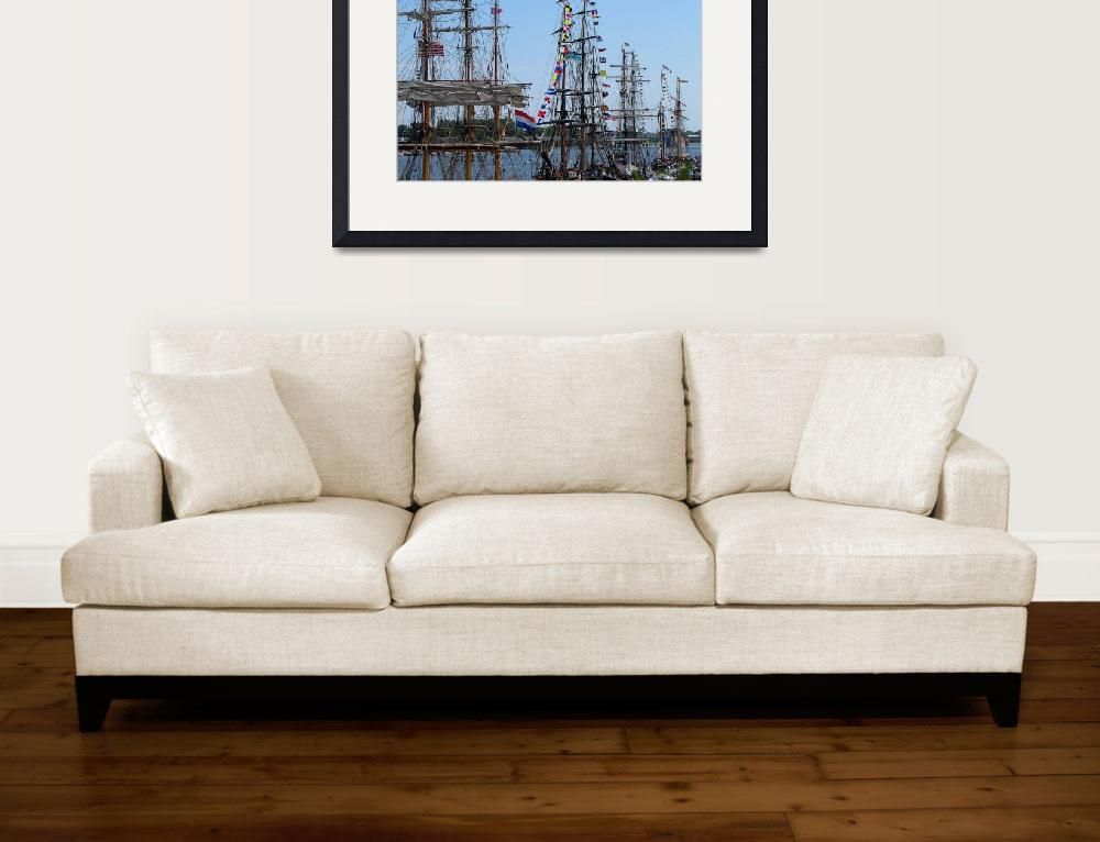 """Tall Ship Series&quot  by ScottHovind"