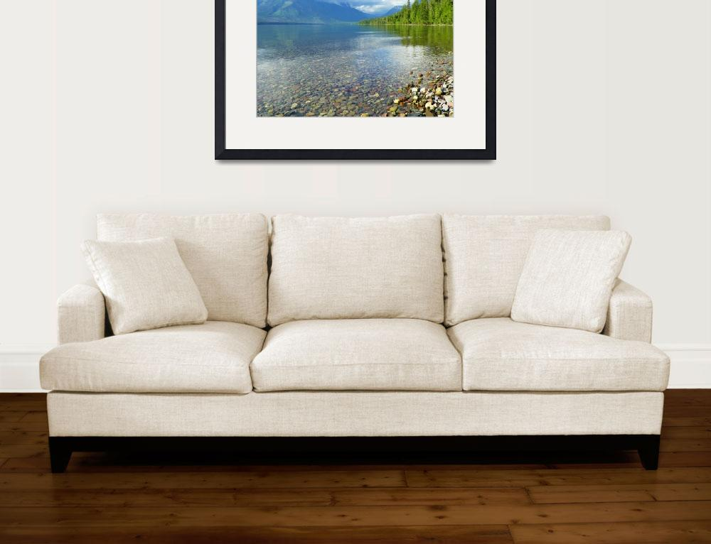 """Lake McDonald - Glacier National Park&quot  by artsandi"