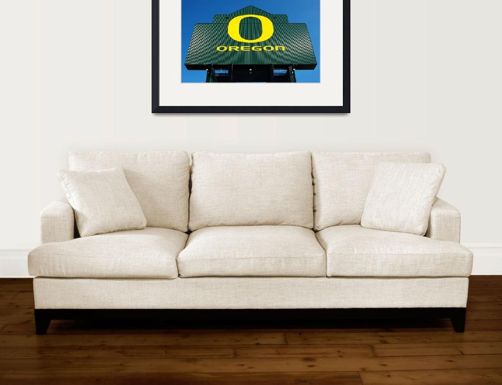 """Oregon Ducks O&quot  (2010) by netbrands"