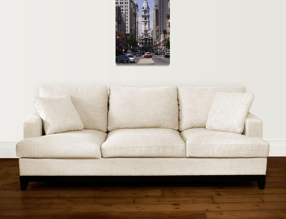 """Philadelphia City Hall&quot  (2010) by mentat"