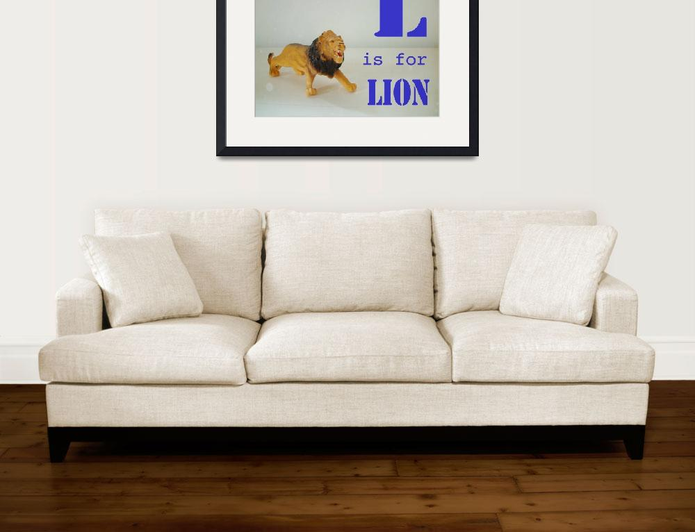 """L is for Lion&quot  (2009) by mkcphotography"