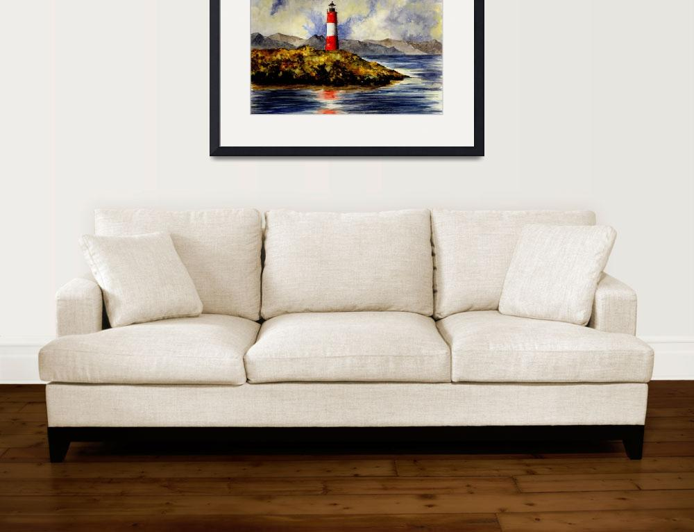 """Les Eclaireurs Lighthouse (Ushuaia Argentina)&quot  (2007) by vigliotti"