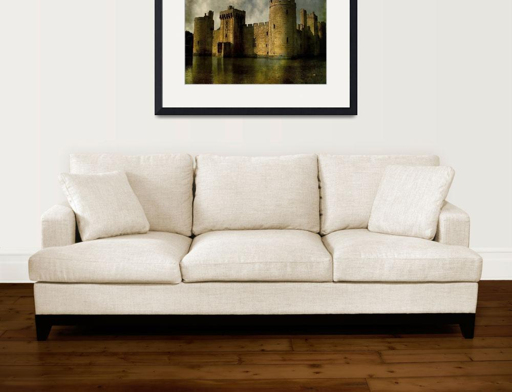 """Bodiam Castle&quot  (2009) by Telzey"