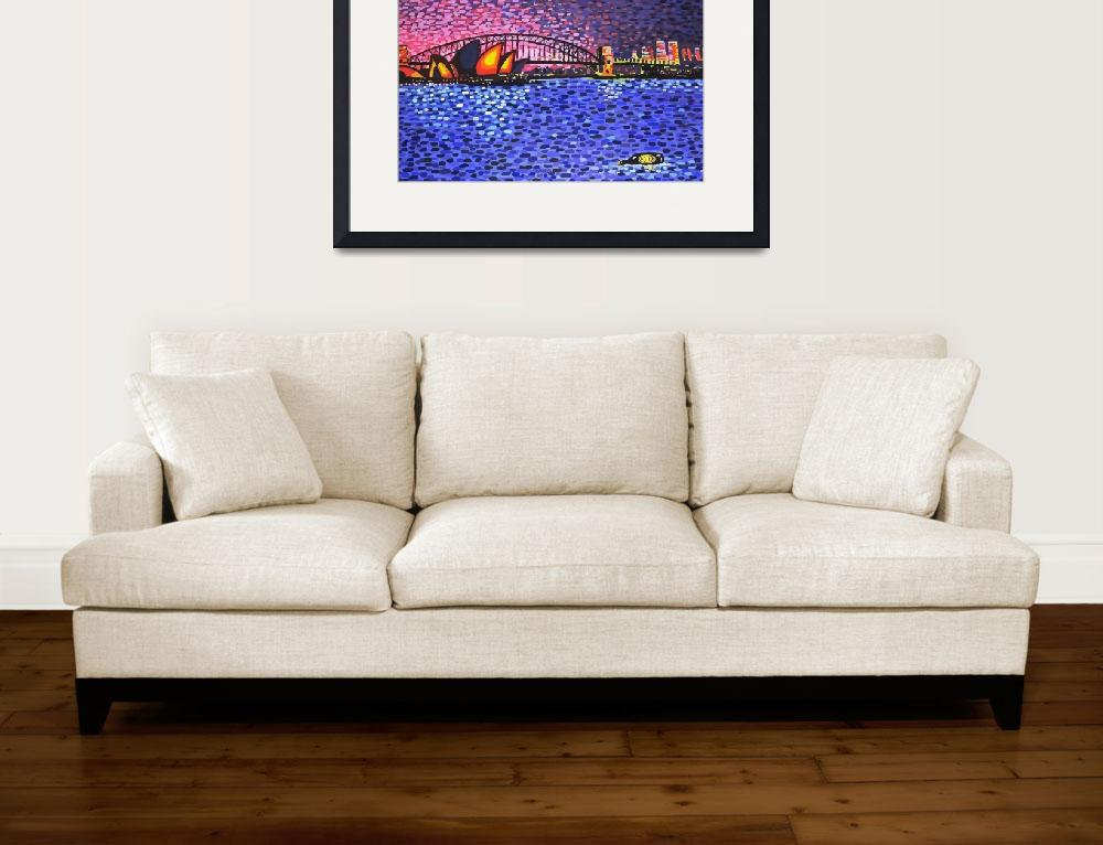 """Sydney Harbour&quot  (2004) by alanhogan"