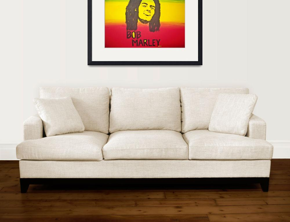 """Bob Marley&quot  by AlkissaRenee"