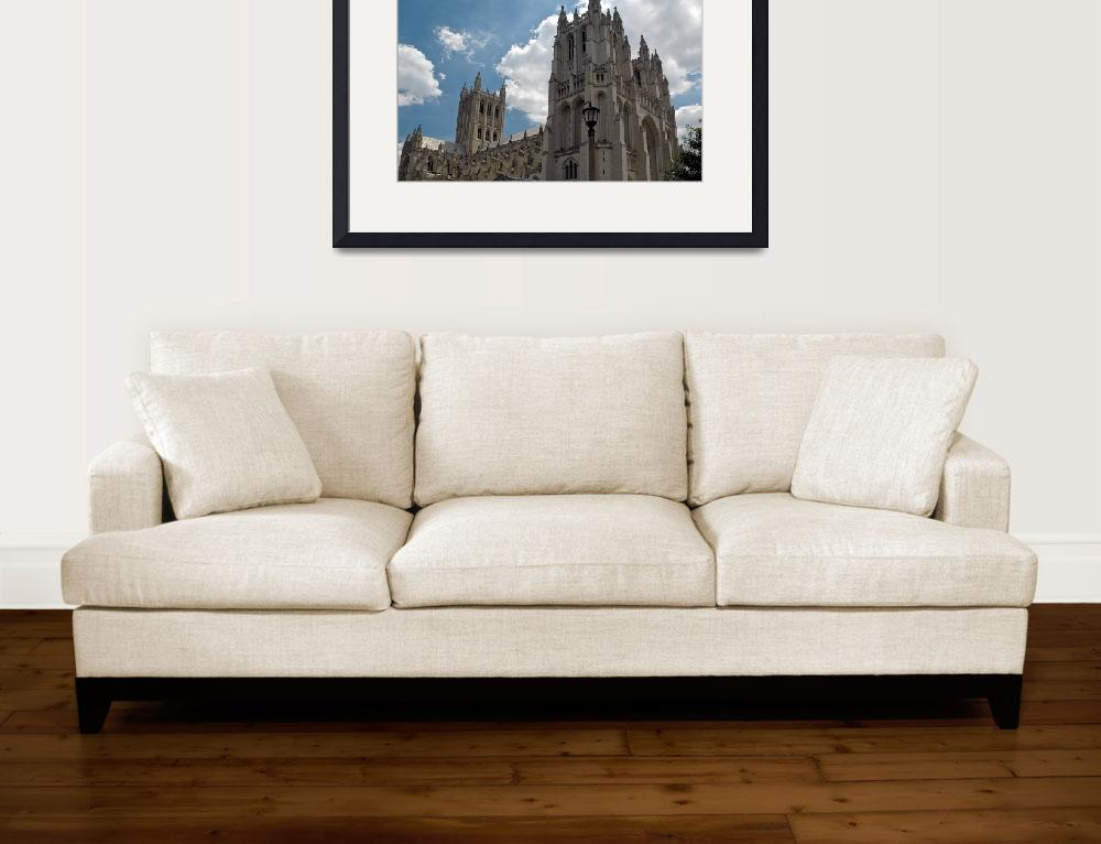 """National Cathedral&quot  (2005) by PaulCoco"