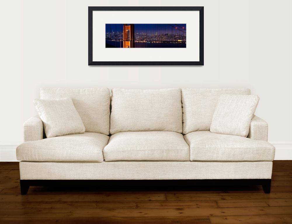 """Golden Gate Bridge panorama&quot  by canbalci"