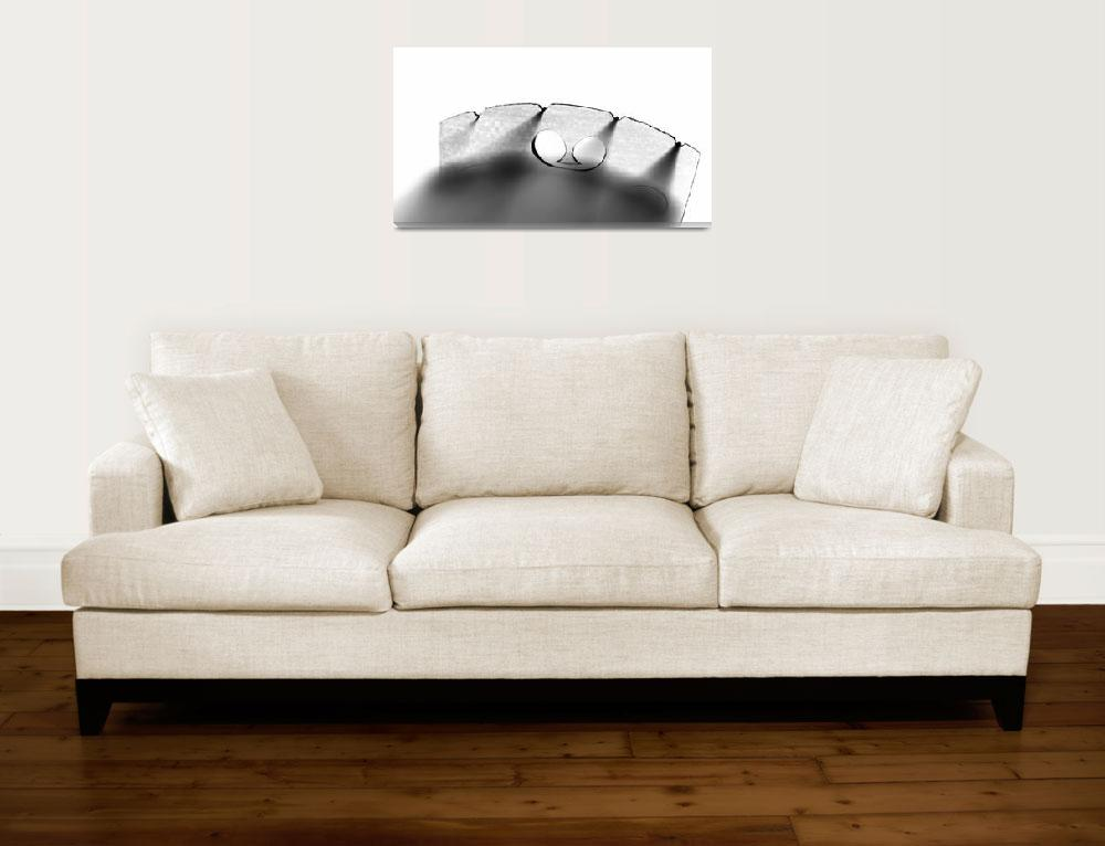 """fiddle bridge&quot  (2010) by lamich"
