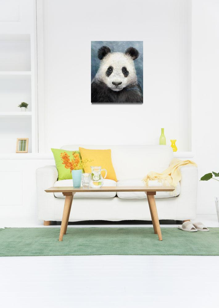 """Giant Panda&quot  (2006) by LisaMclaughlin"