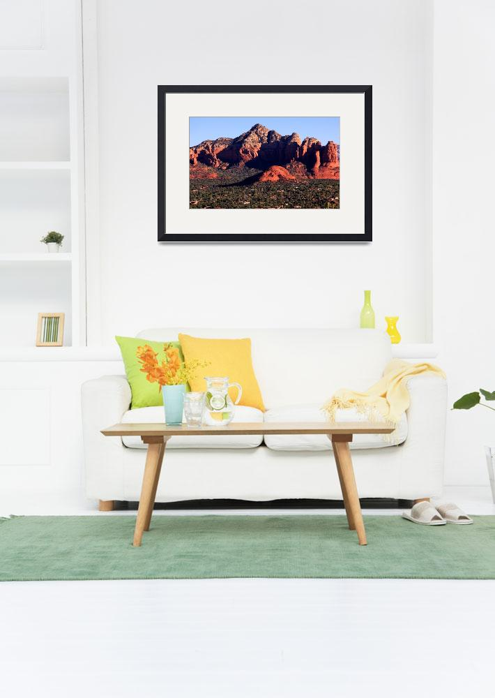 """Red Rock Morning  IMG_1965&quot  (2012) by rayjacque"