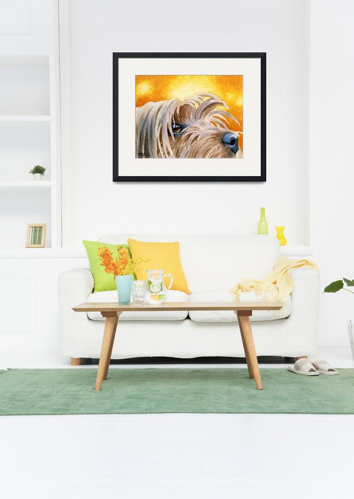 """Yorkshire Terrier 2&quot  (2015) by k9artgallery"