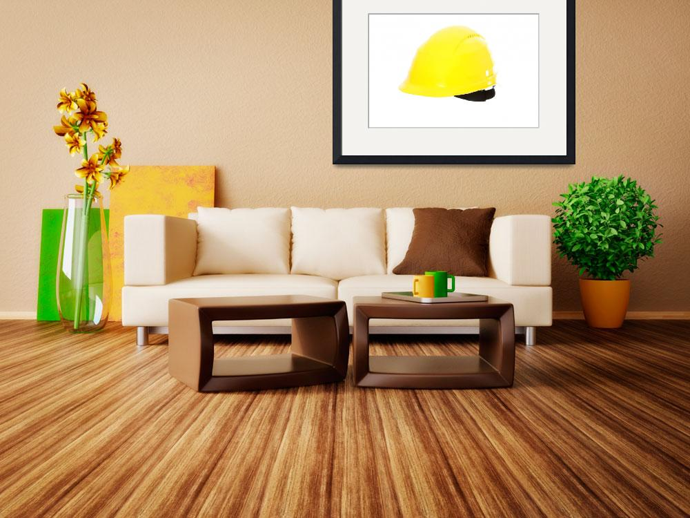 """Yellow hard hat.&quot  (2008) by Piotr_Marcinski"