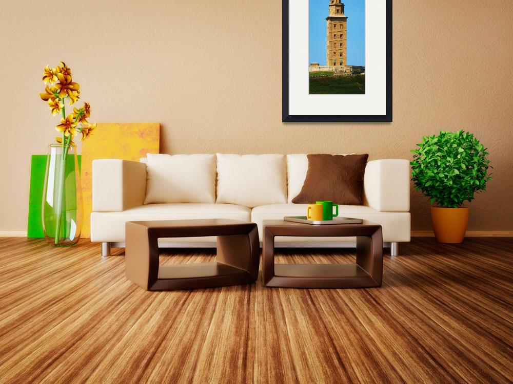 """torre de hercules - hercules tower&quot  (2011) by fotonico"