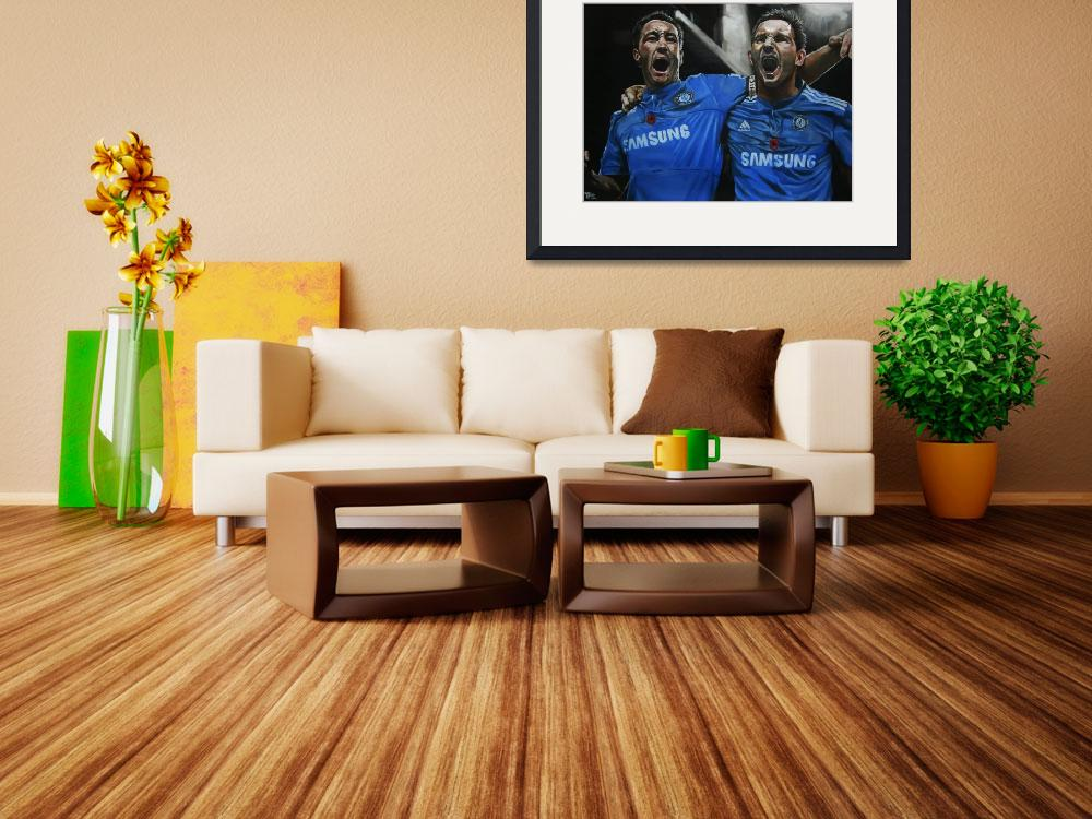 """Terry and Lampard&quot  (2010) by artfromtom"