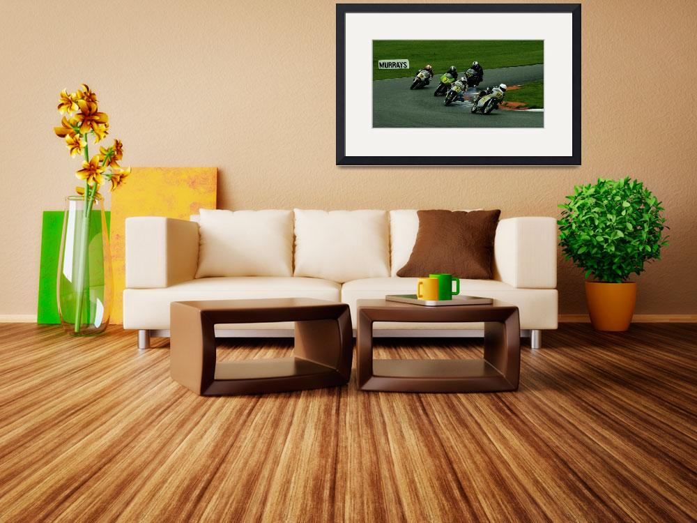 """Classic motorcycle racing&quot  (2014) by John_C_Boekee"
