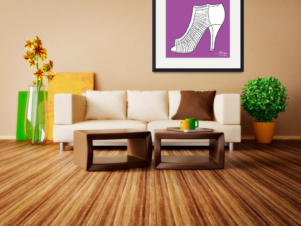 """Elegance Shoe&quot  (2010) by misstandesigns"