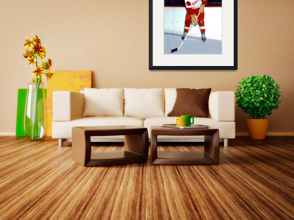 """Gordie Howe&quot  by RetroImagesArchive"