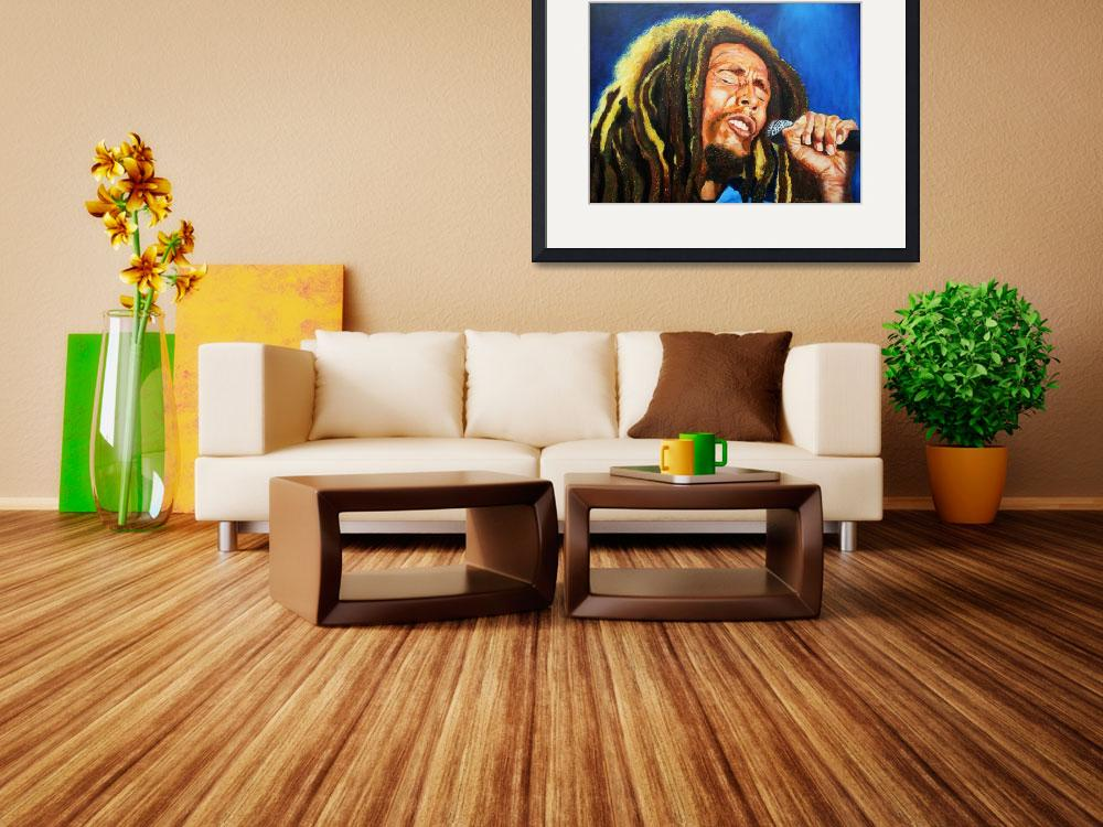 """Bob Marley&quot  (2013) by Frenchart"