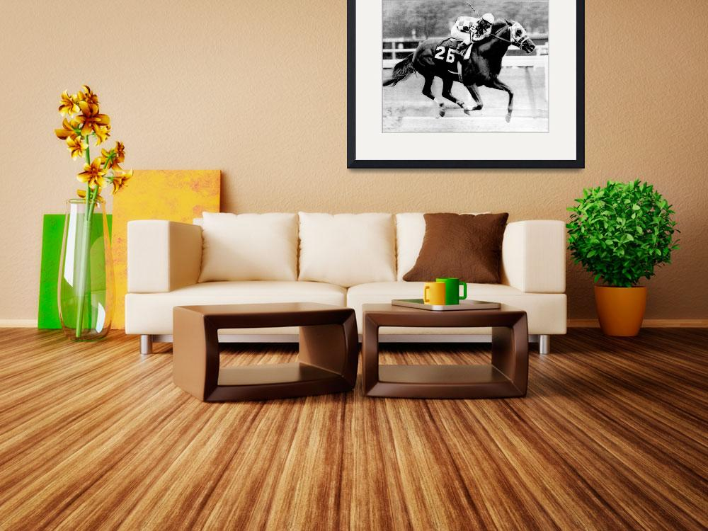 """Secretariat Vintage Horse Racing #12&quot  by RetroImagesArchive"