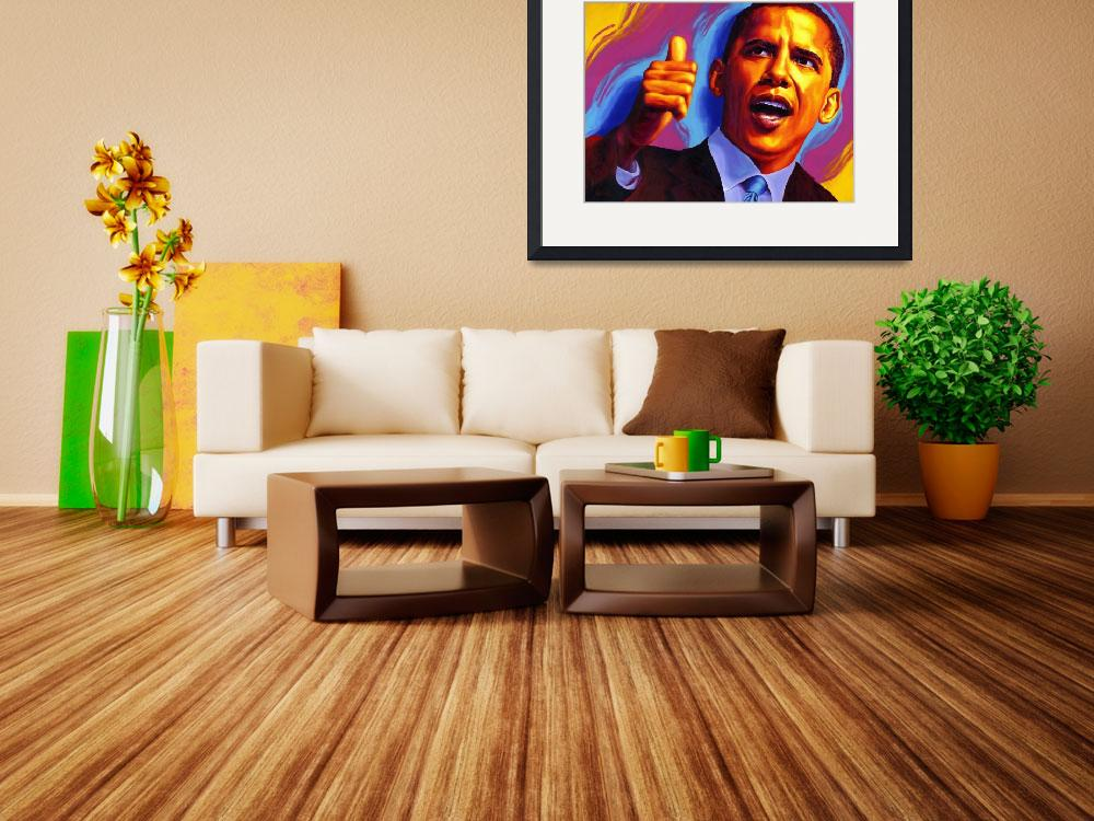 """Barack Obama  ""Change""&quot  (2009) by RamosStudios"