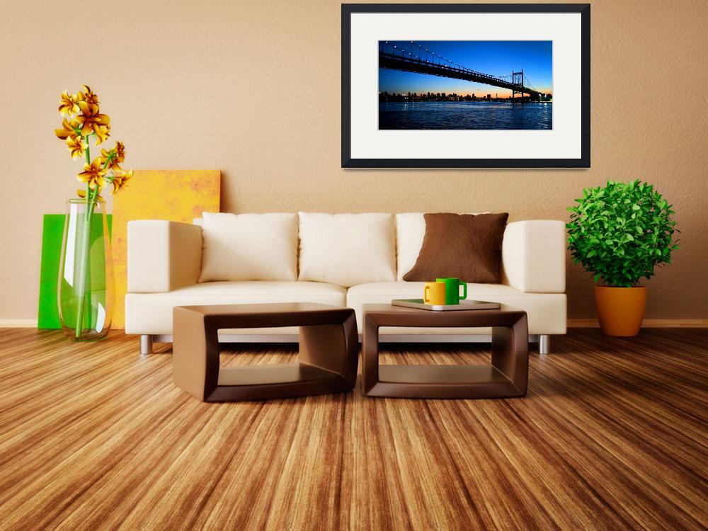 """Triboro Bridge of New York City&quot  (2011) by New-Yorkled"