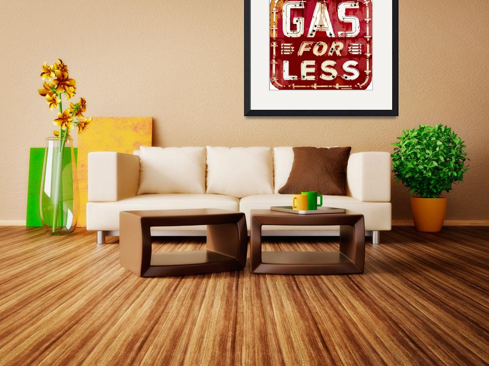 """GAS FOR LESS&quot  (2011) by DavidLloydGlover"