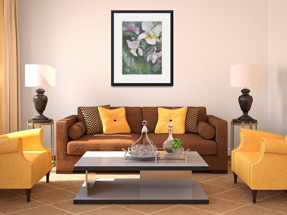 """Cattleya Orchid&quot  (2012) by Mesterartshop"
