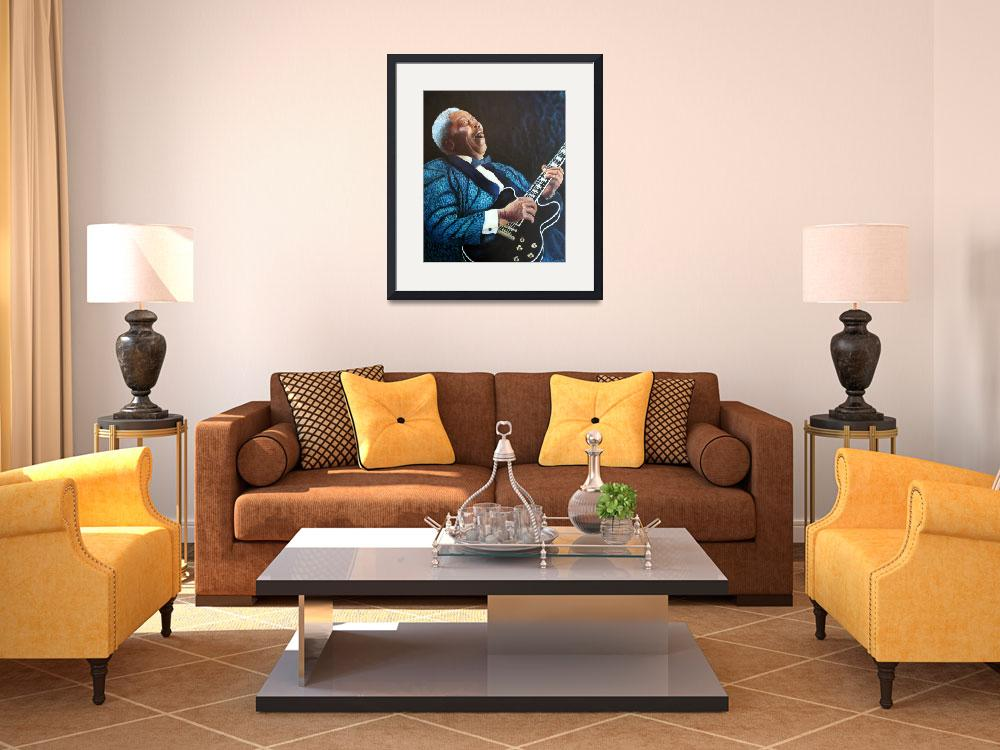 """BB King&quot  (2013) by Frenchart"