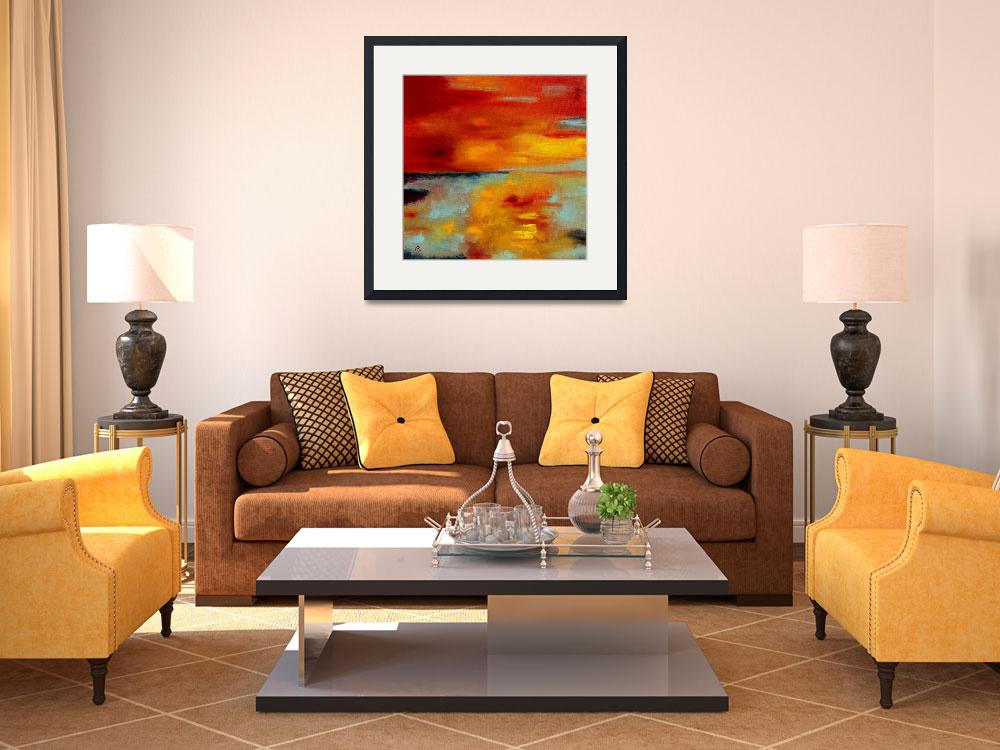 """Abstract landscape 13&quot  by pol"