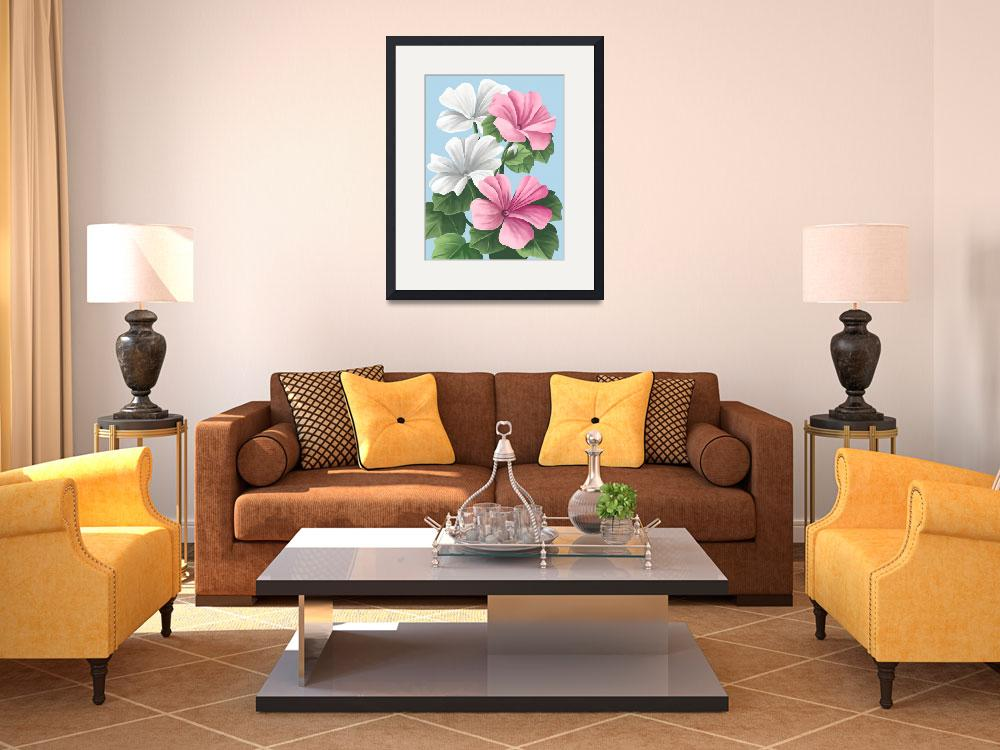 """Floral Painting&quot  by waterart"