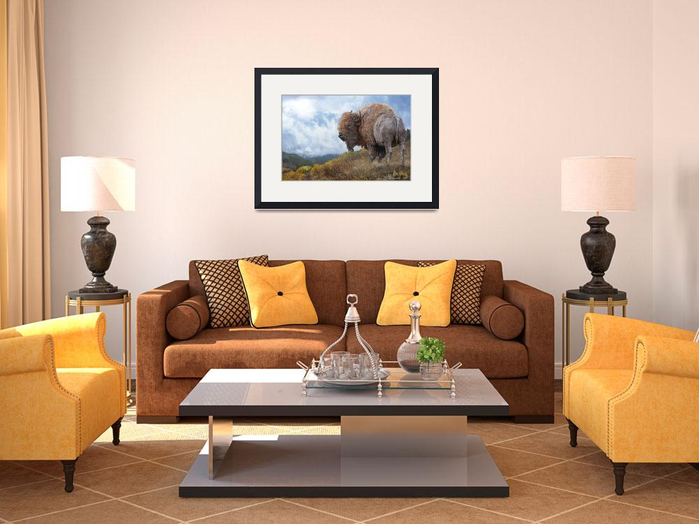 """golden bison3&quot  by rchristophervest"