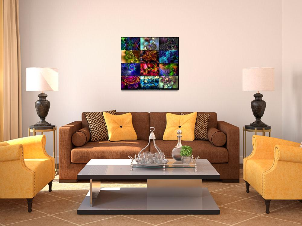 """Interiors Collection #1 3x4&quot  (2011) by AnnStretton"