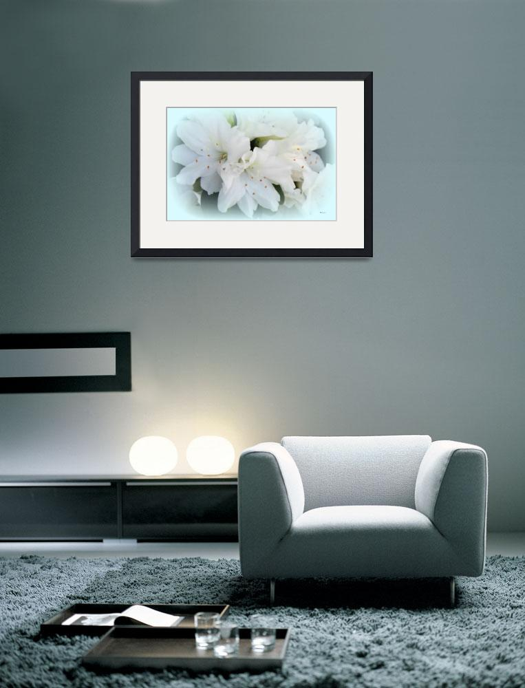 """White Azalea One&quot  (2012) by bettynorthcutt"