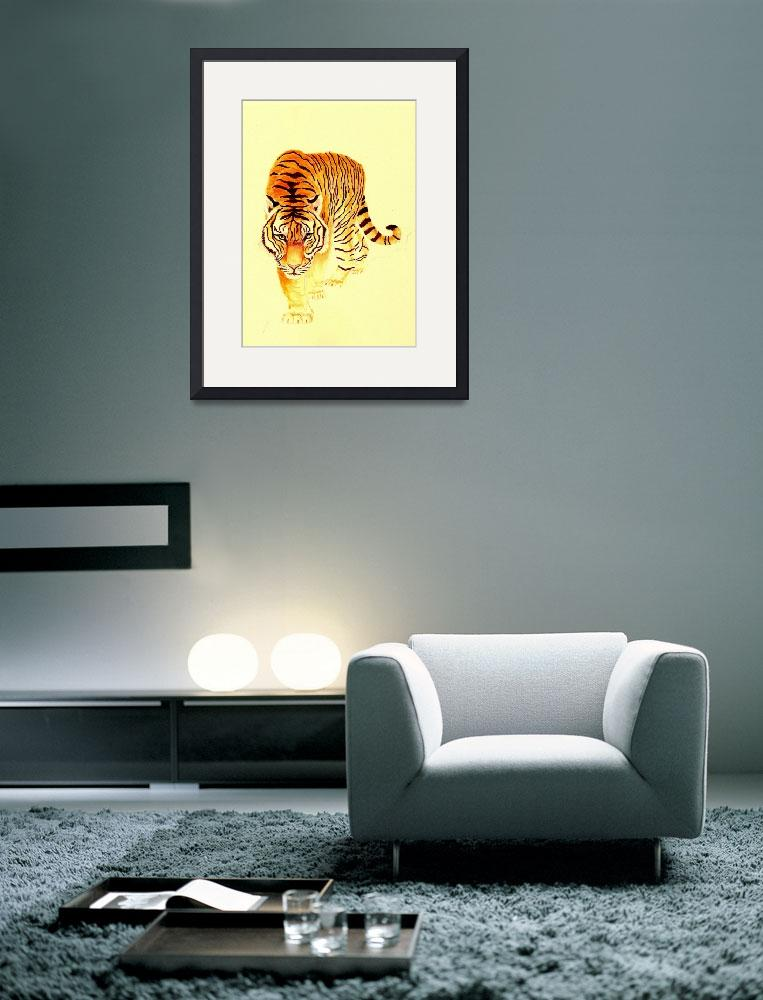"""Tiger Number 2&quot  (2005) by vigliotti"