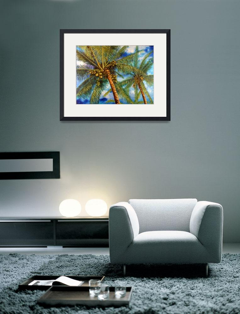 """Waikoloa Palms&quot  (2005) by DonGriffithArt"