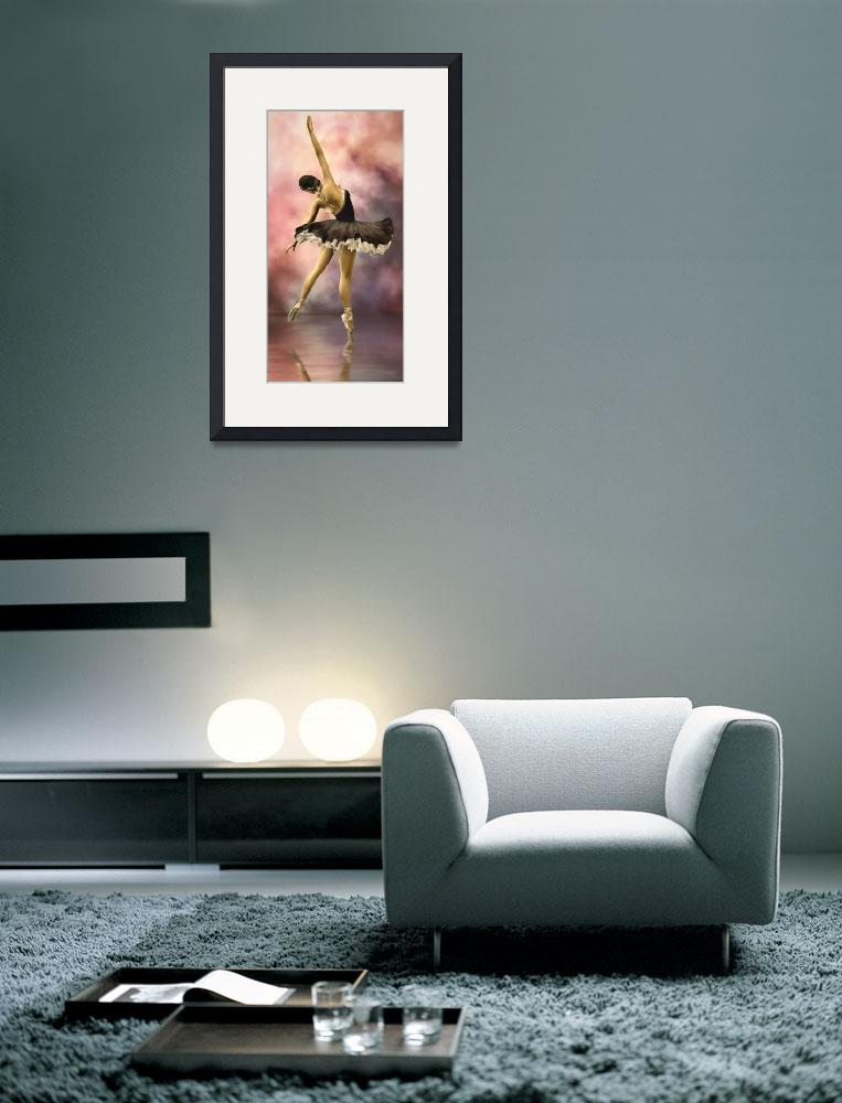 """The Ballerina * Wall Art&quot  (2010) by AnaCBStudio"