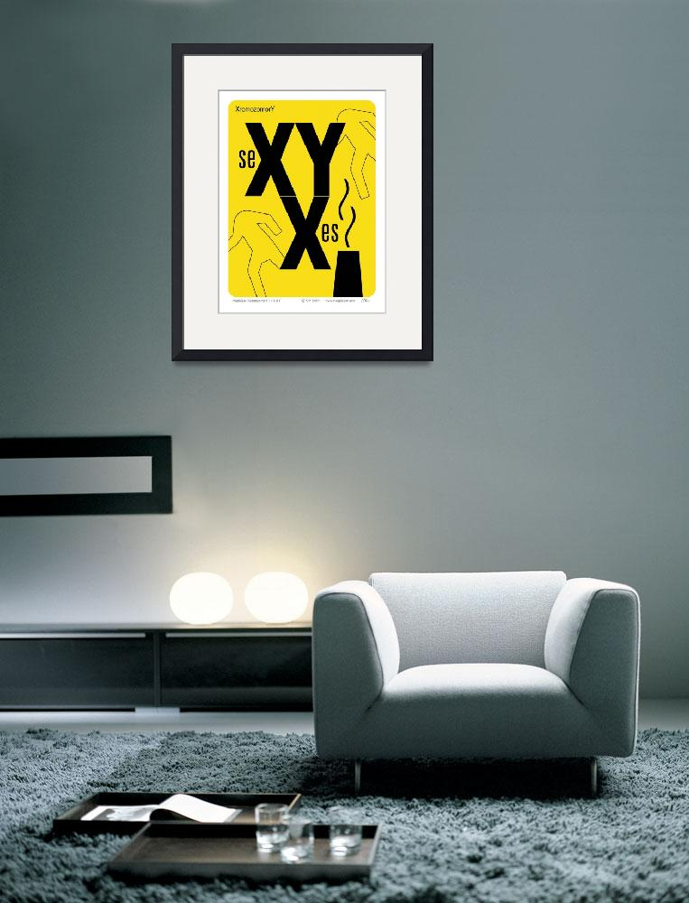 """XromoxomorY (yel)&quot  (2008) by kimsmithsart"