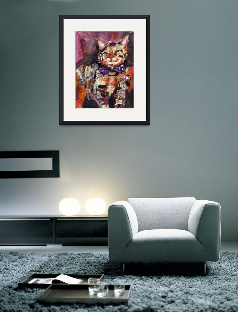 """Diva - Feline with Style - Cats - Feline&quot  (2008) by GinetteCallaway"